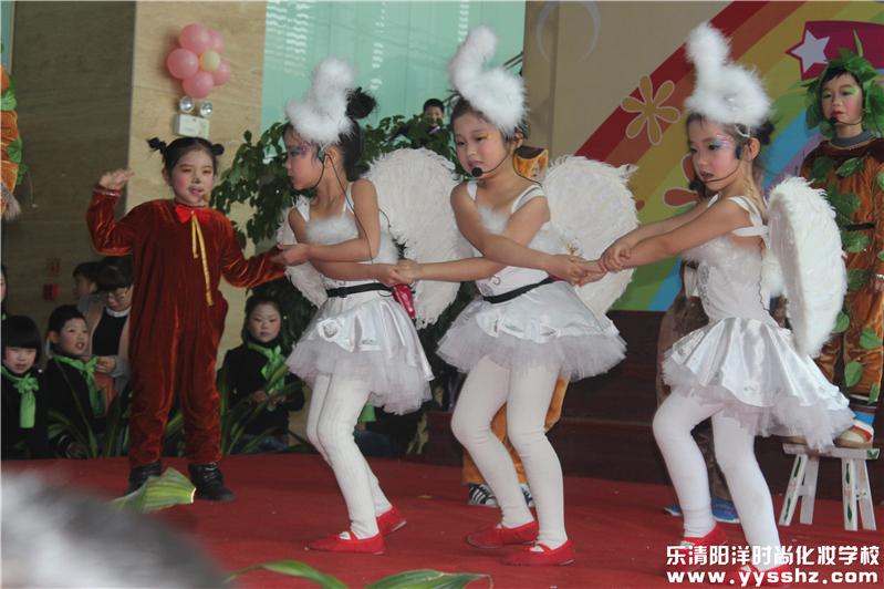 儿童舞蹈发型图片大全