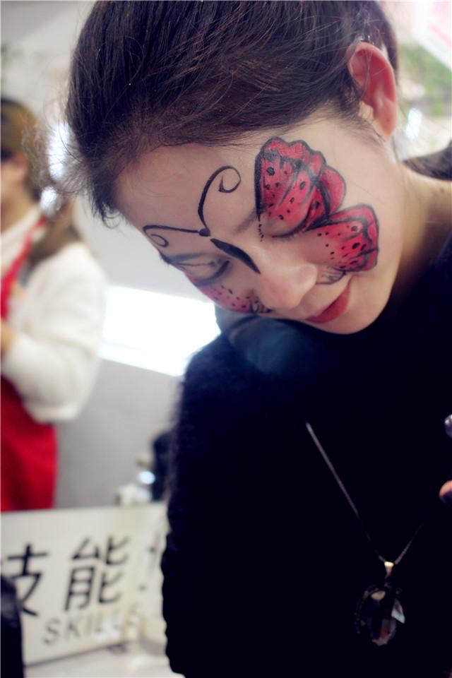 【乐清阳洋舞台妆】表演舞妆之妙趣横生的动物妆